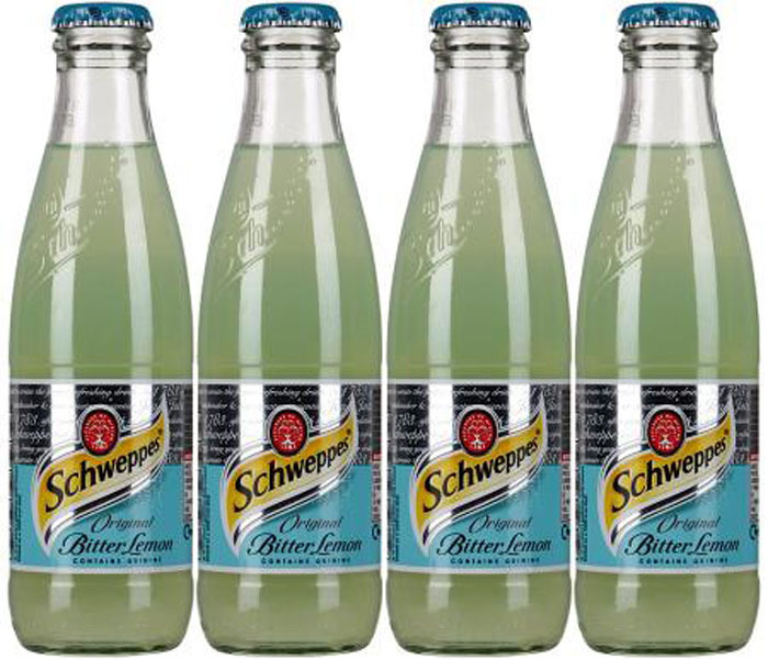 Газированный напиток Schweppes Bitter Lemon, 24 шт по 200 мл