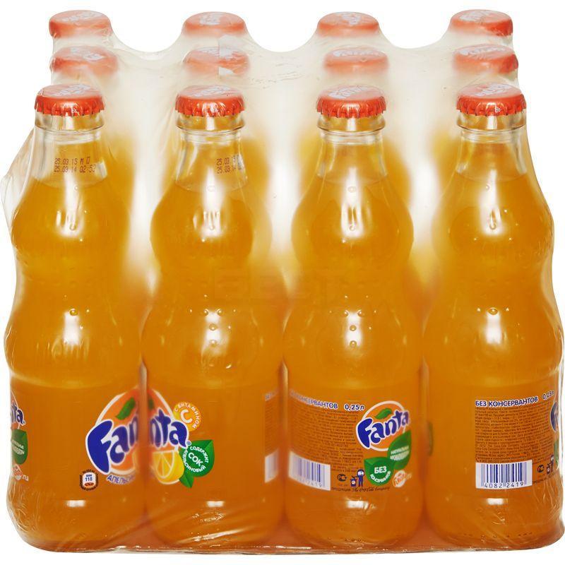 Газированный напиток Fanta , 24 шт по 330 мл
