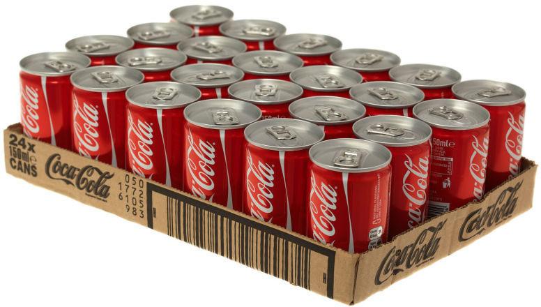Газированный напиток Coca-Cola, 24 шт по 150 мл