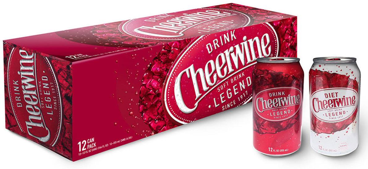 Газированный напиток Cheerwine, 12 шт по 355 мл