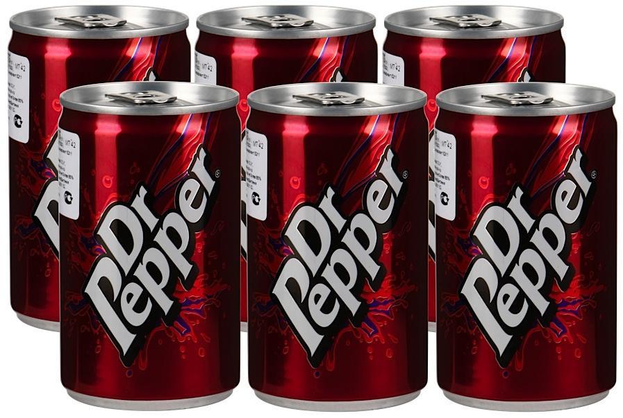 Газированный напиток Dr.Pepper, 24 шт по 150 мл