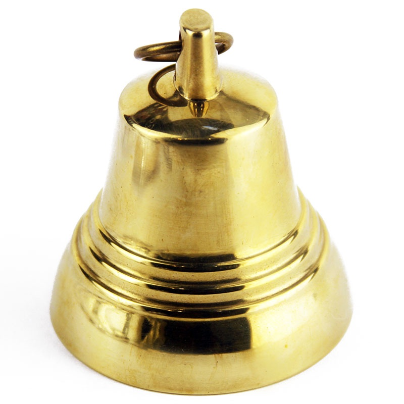 Колокольчик Валдайский №6, MF00183, золотой, 7.1х7.5 смMF00183Колокольчик сувенирный. Бронзовое литье. Полированный. Диаметр: 71мм. Высота: 75мм.