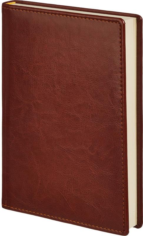 """Ежедневник Attache """"Небраска"""", недатированный, 176 листов, 559218, коричневый"""
