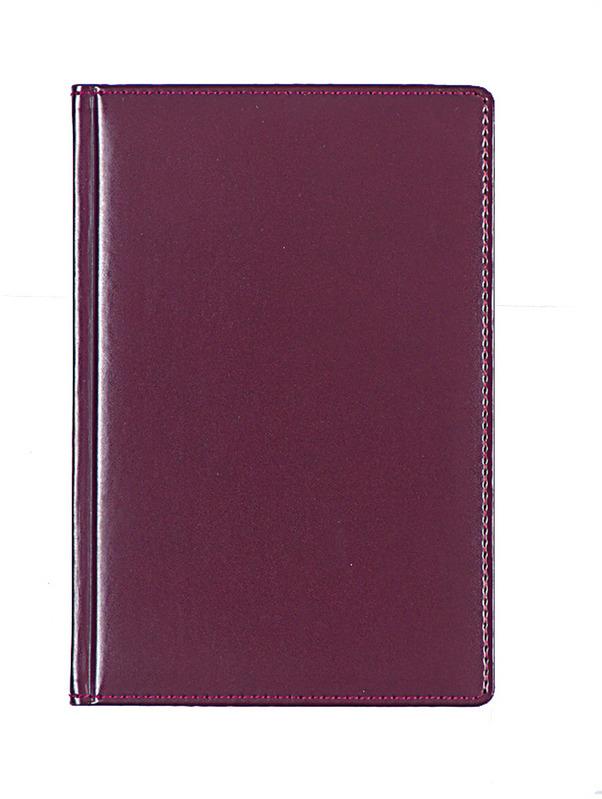 """Ежедневник Attache """"Каньон"""", недатированный, 176 листов, 84869, бордовый"""
