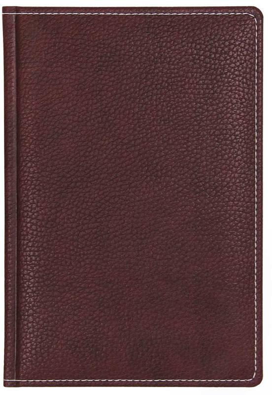 Ежедневник Attache Bizon, недатированный, 176 листов, 852896, бордовый