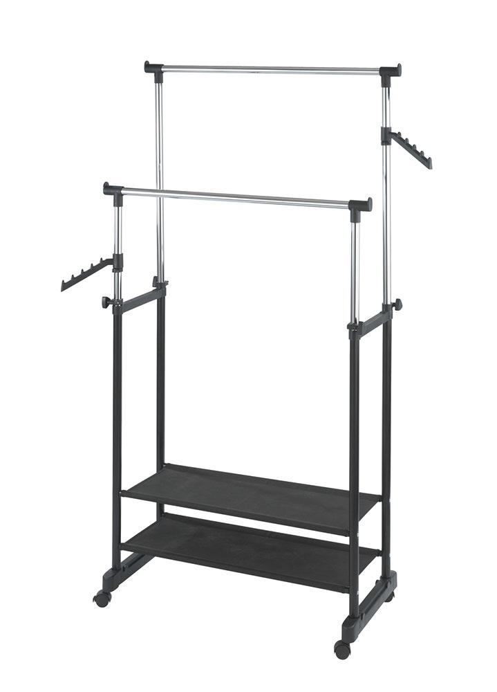 Вешалка-гардероб Хит-декор All In, 05523, черный