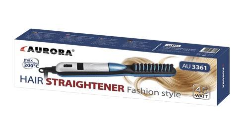 Фен-щетка для волос AURORA AU3361, белый AURORA