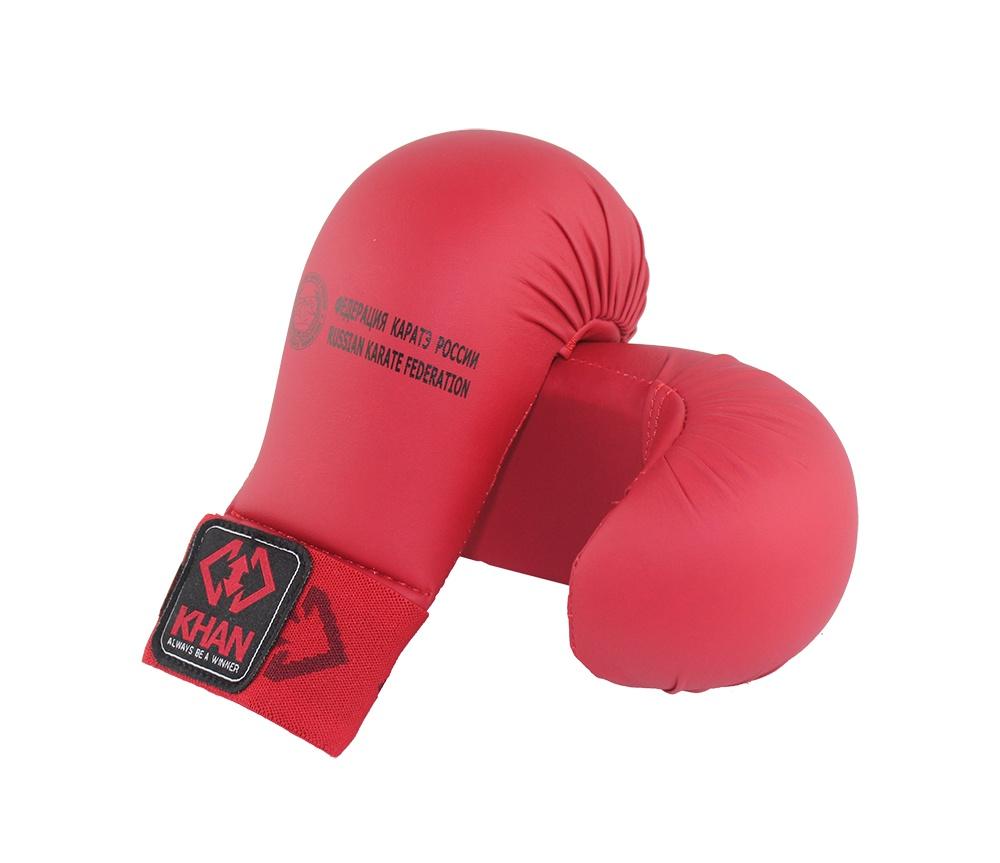 Защита кисти Khan Каратэ ФКР, FKR20001-1, красный, размер XS защита торса khan каратэ фкр fkr5000 4 бежевый размер l