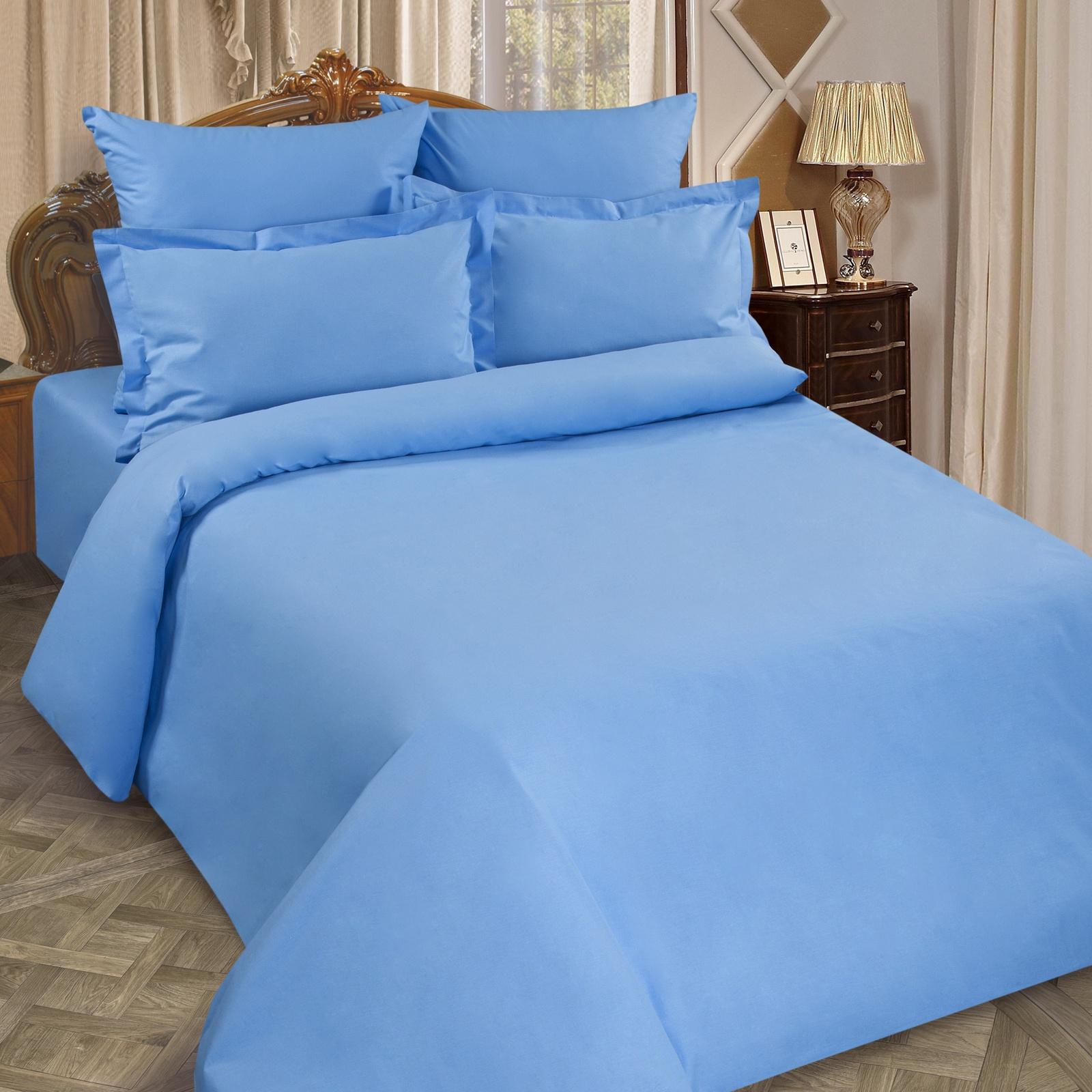 Простыня Традиция Рейнбоу, для сна и отдыха, 1355/Аквамарин, синий