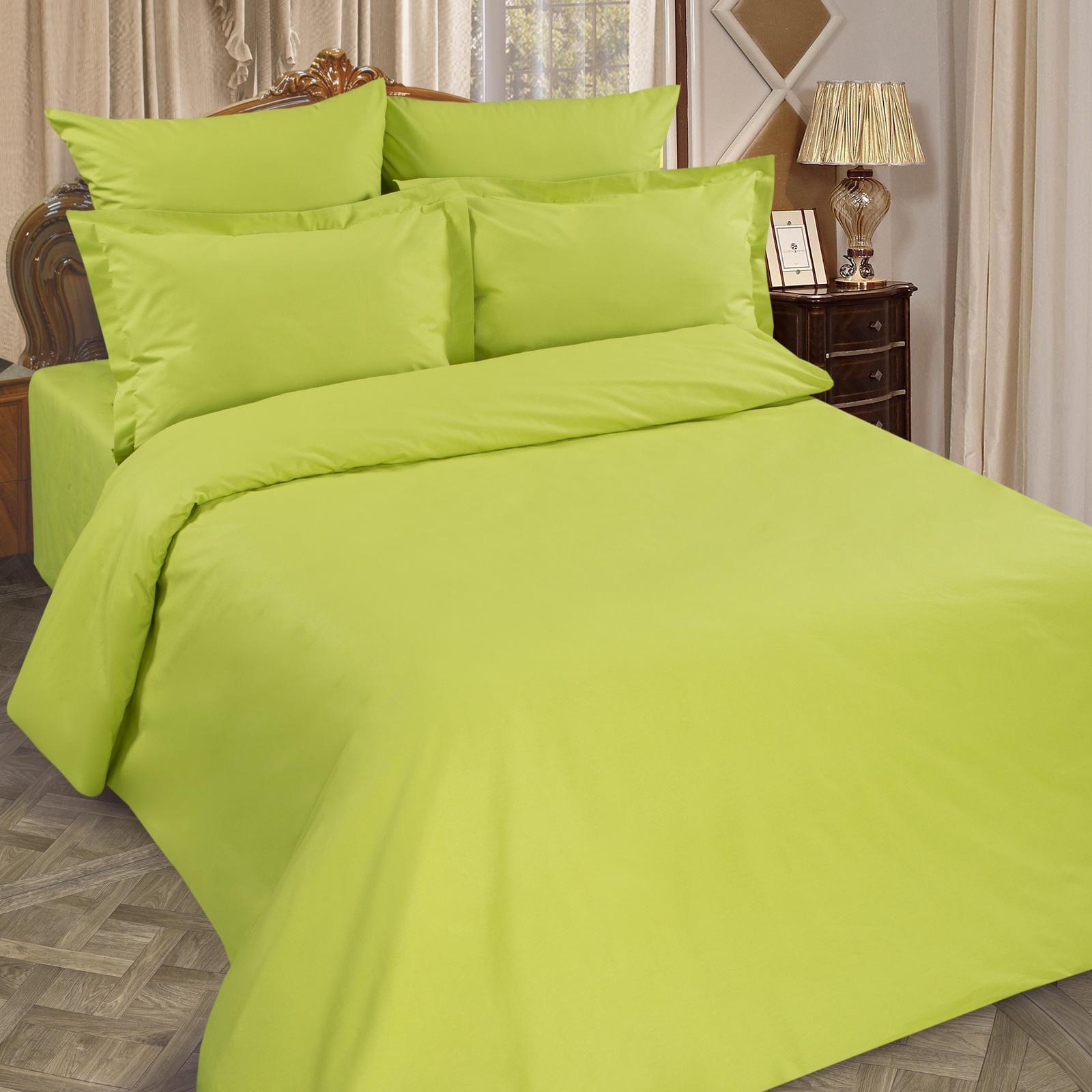 Простыня ТК Традиция Рейнбоу, для сна и отдыха 200x200 лайм