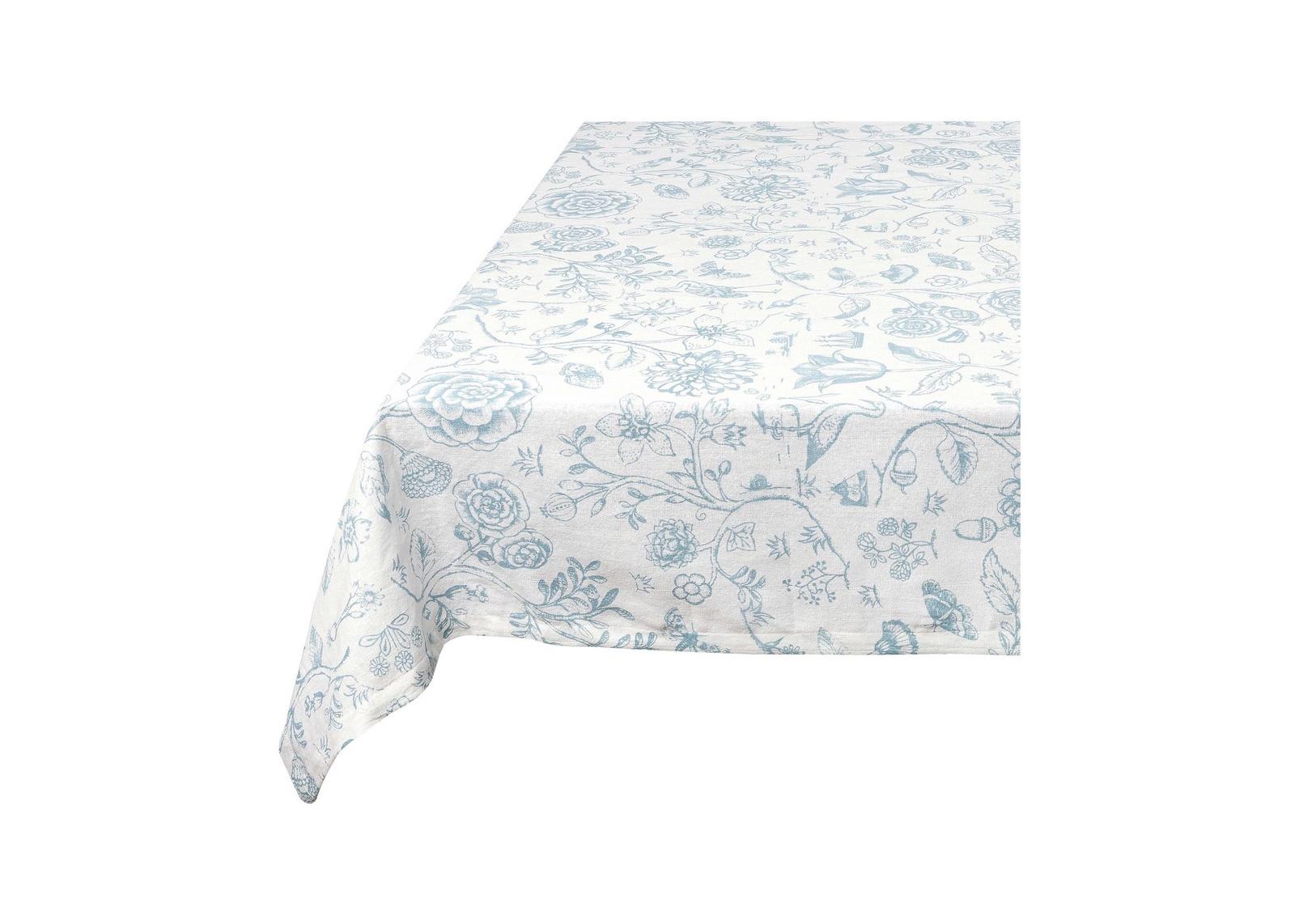 Скатерть Pip Studio Spring to Life White Blue, 150x250 см скатерть secret de maison pompadour помпадур размер 150 см х 250 см
