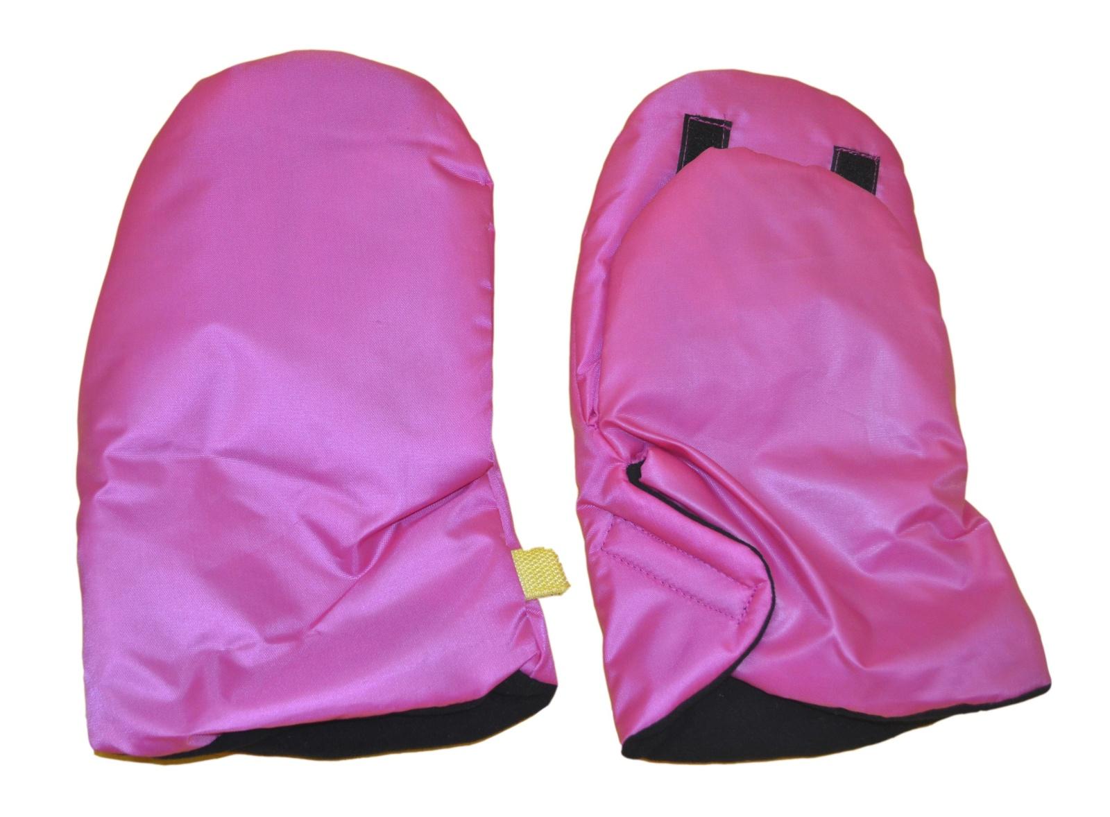 Варежки для коляски Мирти Зимушка, 2000064720010, розовый муфта tigger warmhands на ручку коляски
