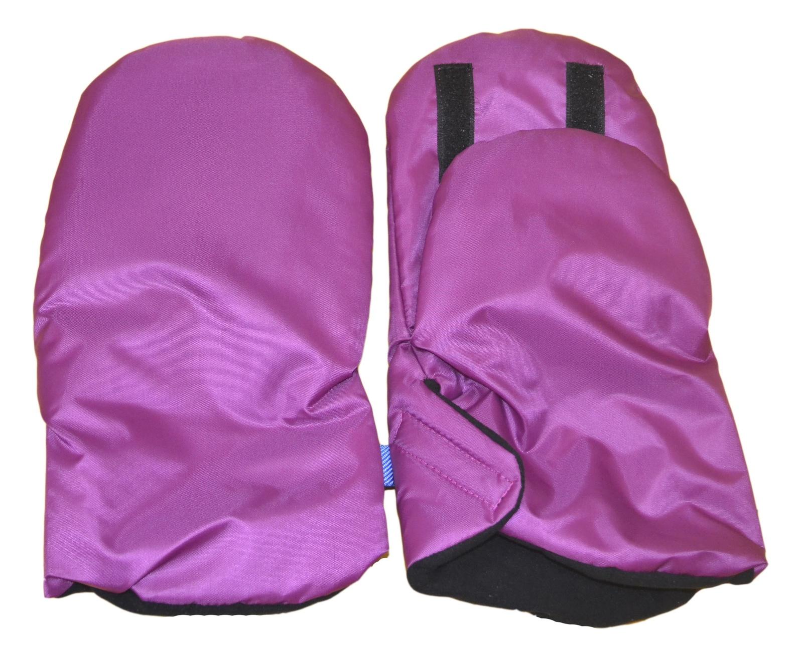 Варежки для коляски Мирти Зимушка, 2000064740018, темно-розовый муфта tigger warmhands на ручку коляски