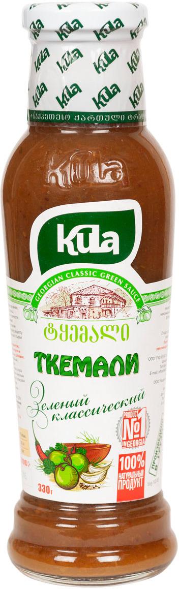 Соус Kula Ткемали зеленый классический, 330 г соус kula наршараб 450 г