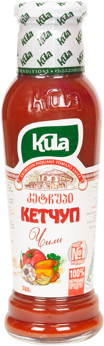Кетчуп Kula Чили, 360 г соус kula наршараб 450 г