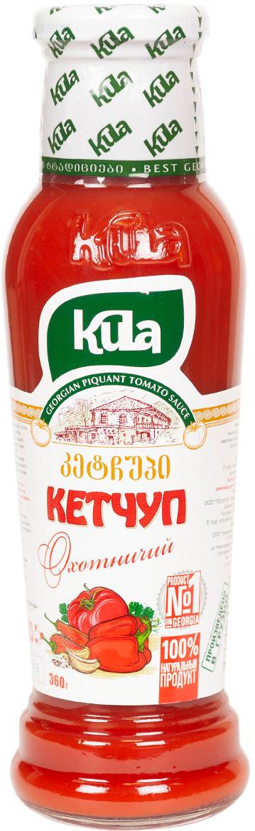 Кетчуп Kula Охотничий, 360 г соус kula наршараб 450 г