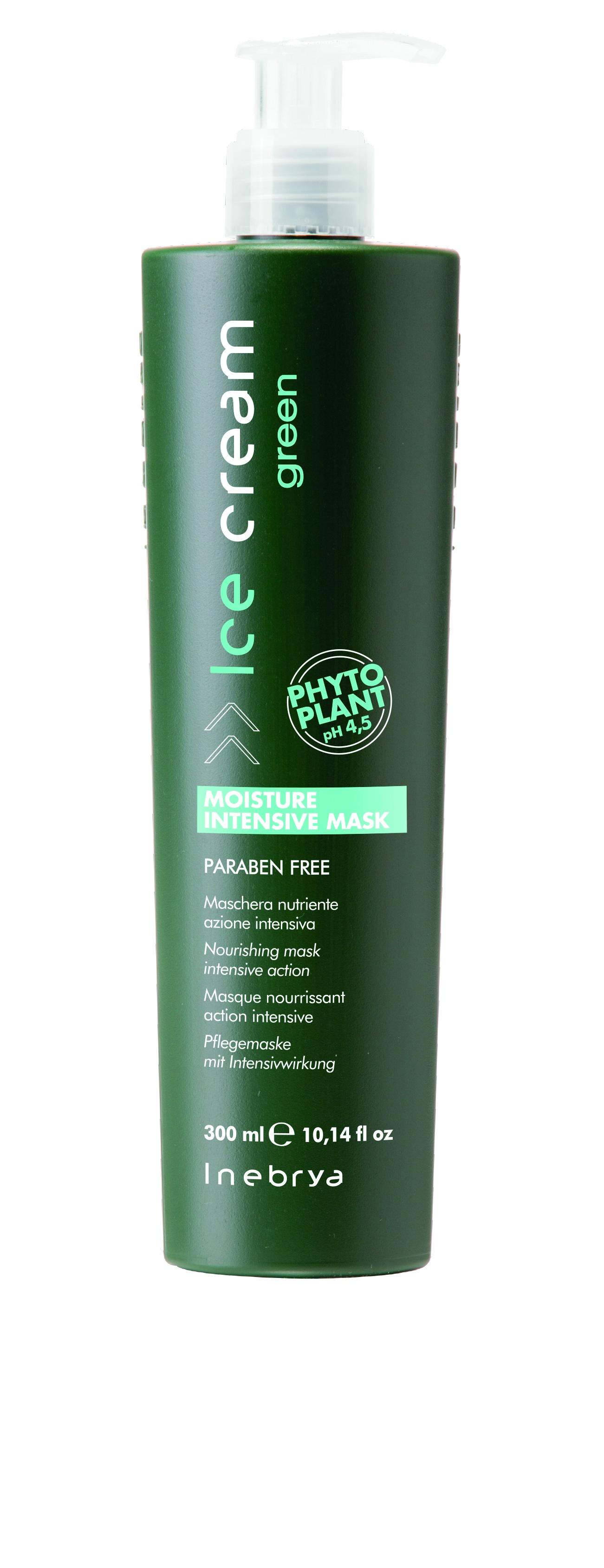 Маска Inebrya Green интенсивно увлажняющая для всех типов волос, 300 мл