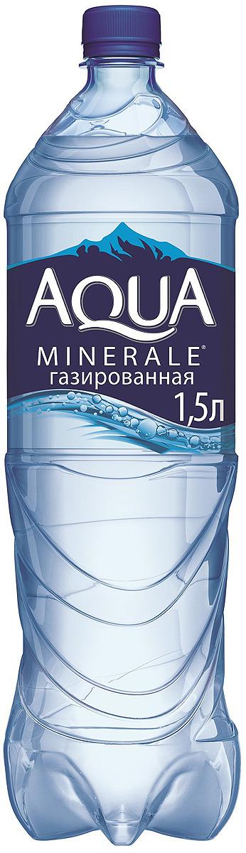 Aqua Minerale вода газированная питьевая, 1,5 л