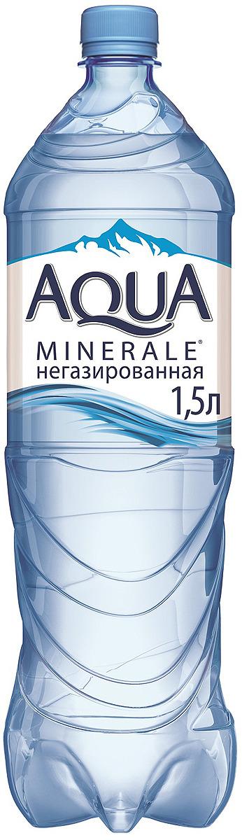 Aqua Minerale вода питьевая негазированная, 1,5 л