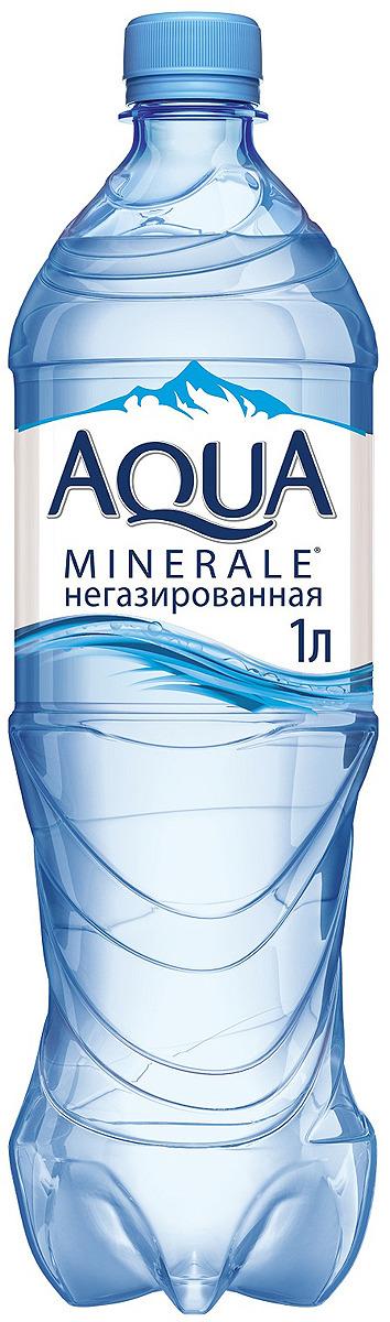 Aqua Minerale вода питьевая негазированная, 1 л