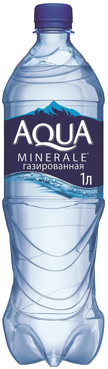 Aqua Minerale вода газированная питьевая, 1 л