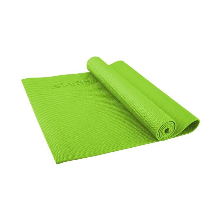 Коврик для йоги Starfit FM-101, УТ-00008838, зеленый, 173x61x0,8 см цена