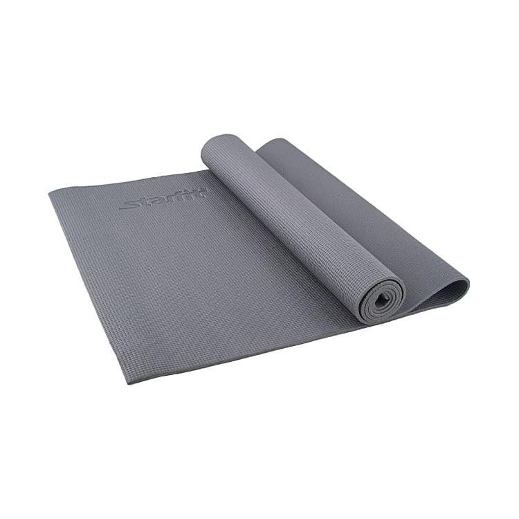 Коврик для йоги Starfit FM-101, УТ-00007232, серый, 173x61x1.0 см султанова марина прописи пишем цифры для детей 3 4 лет 8кц5 16517