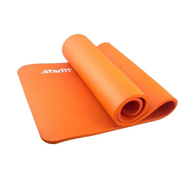 Коврик для йоги Starfit FM-301, УТ-00008851, оранжевый, 183x58x1.5 см гетры nike matchfit otc team sx6836 719