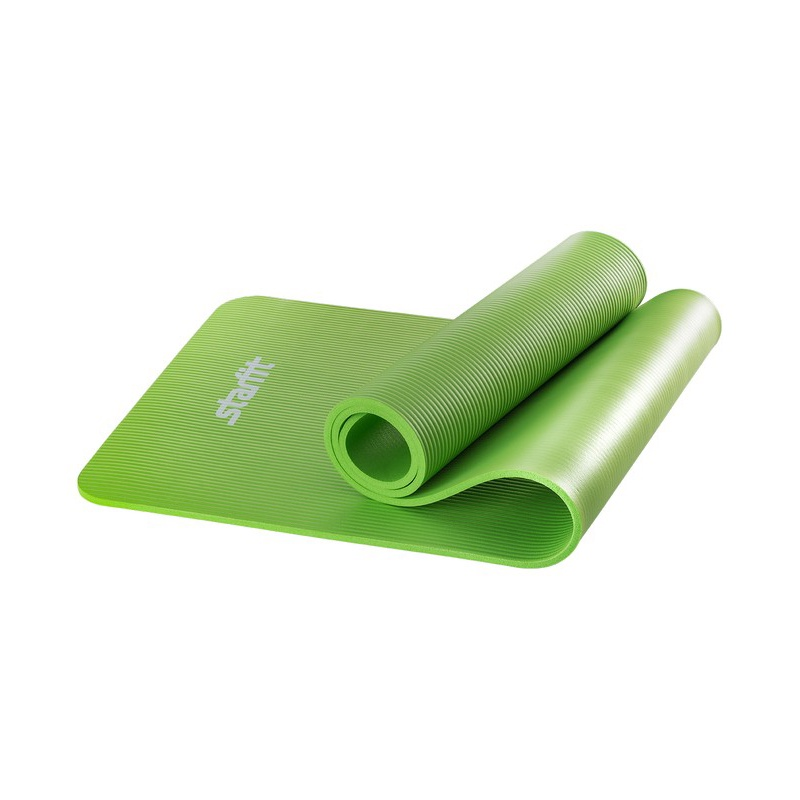 Коврик для йоги Starfit FM-301, NBR, 183x58x1,0 см, зеленый