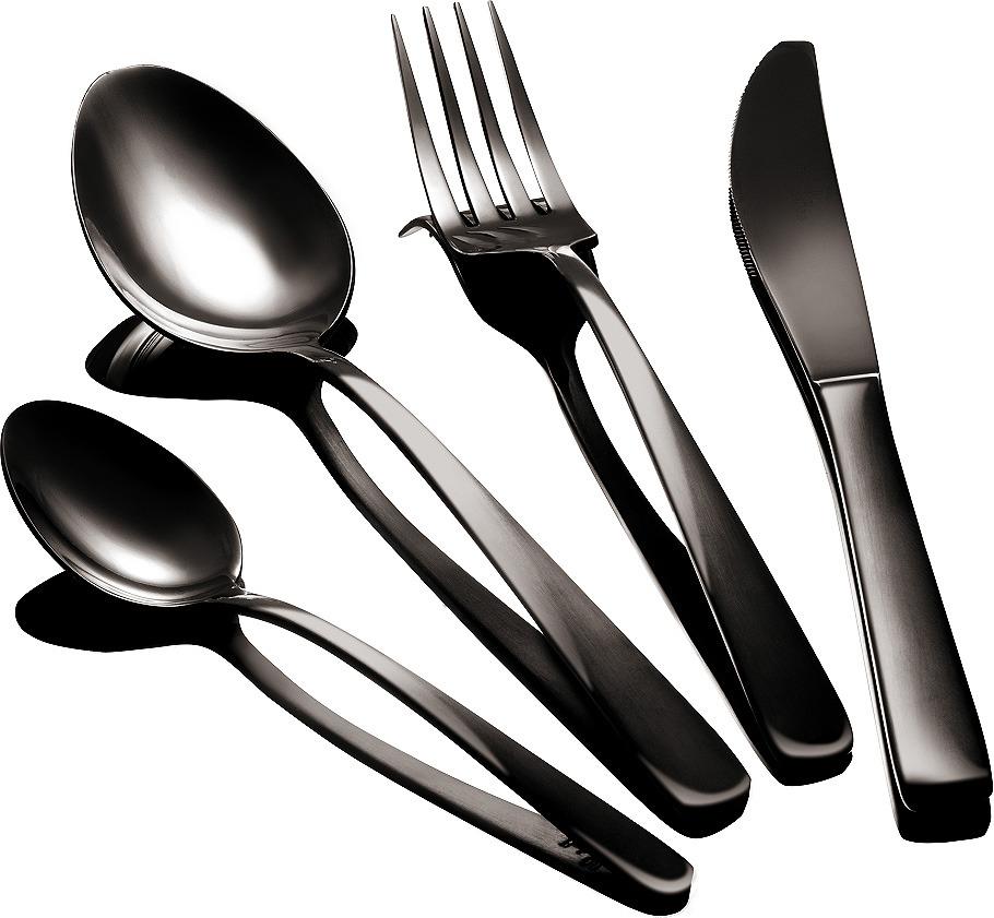Набор столовых приборов Berlinger Haus Black Royal, 2346-BH, черный, 24 предмета трусики 6 штук quelle vivance 221647