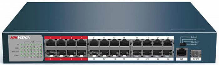 Коммутатор Hikvision DS-3E0326P-E/M, dark blue
