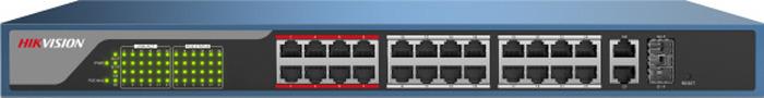 Коммутатор Hikvision DS-3E1326P-E, dark blue