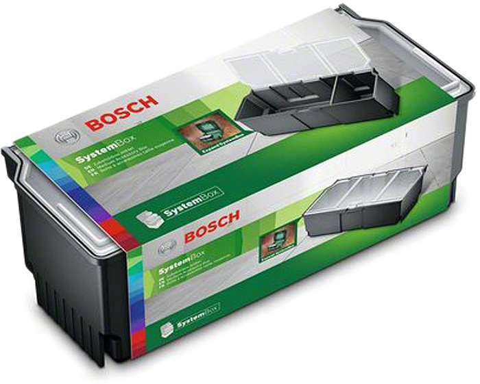 Ящик для инструментов Bosch, 1600A016CV, прозрачный, 23.5 х 10.5 х 0.9 см бокс под мелкие запчасти peng workers