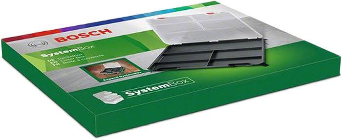 Ящик для инструментов Bosch Lidbox, 1600A019CG, прозрачный, 32.4 х 26.4 х 2.2 см бокс под мелкие запчасти peng workers