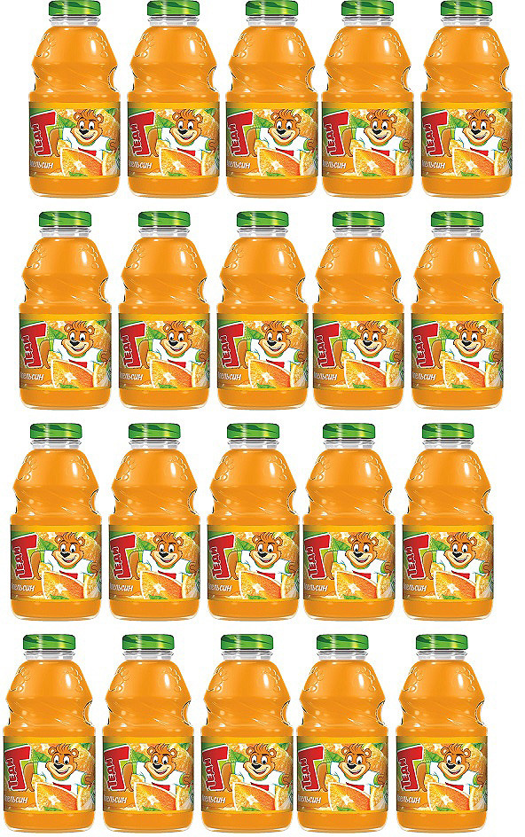 Нектар Теди Апельсин , 20 шт по 300 мл бытовая химия glade освежитель воздуха сладкий апельсин 300 мл