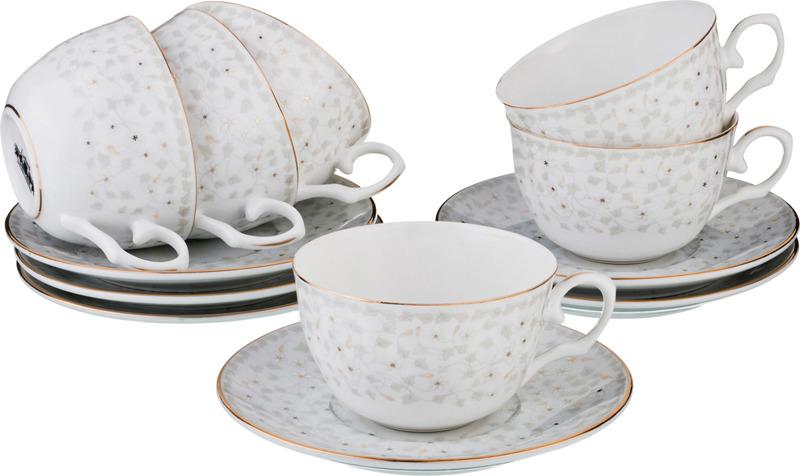 Набор чайный Lefard Вивьен, 760-531, 250 мл, на 6 персон, 8 предметов набор чайный lefard времена года 760 430 250 мл на 4 персоны 8 предметов
