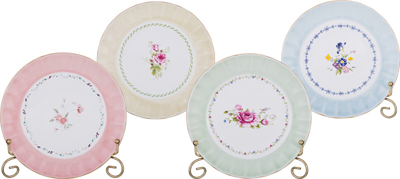 """Набор десертных тарелок Lefard """"Времена года"""", 760-585, 4 предмета"""