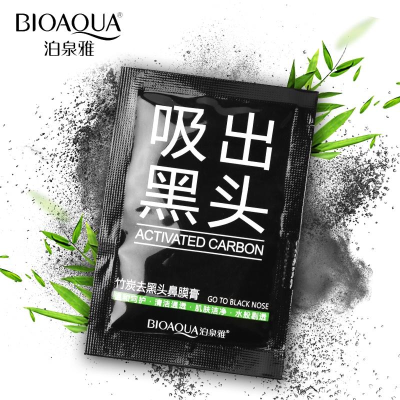 Маска косметическая BIOAQUA черная маска-пленка для удаления черных точек, 6 гр.  Bioaqua