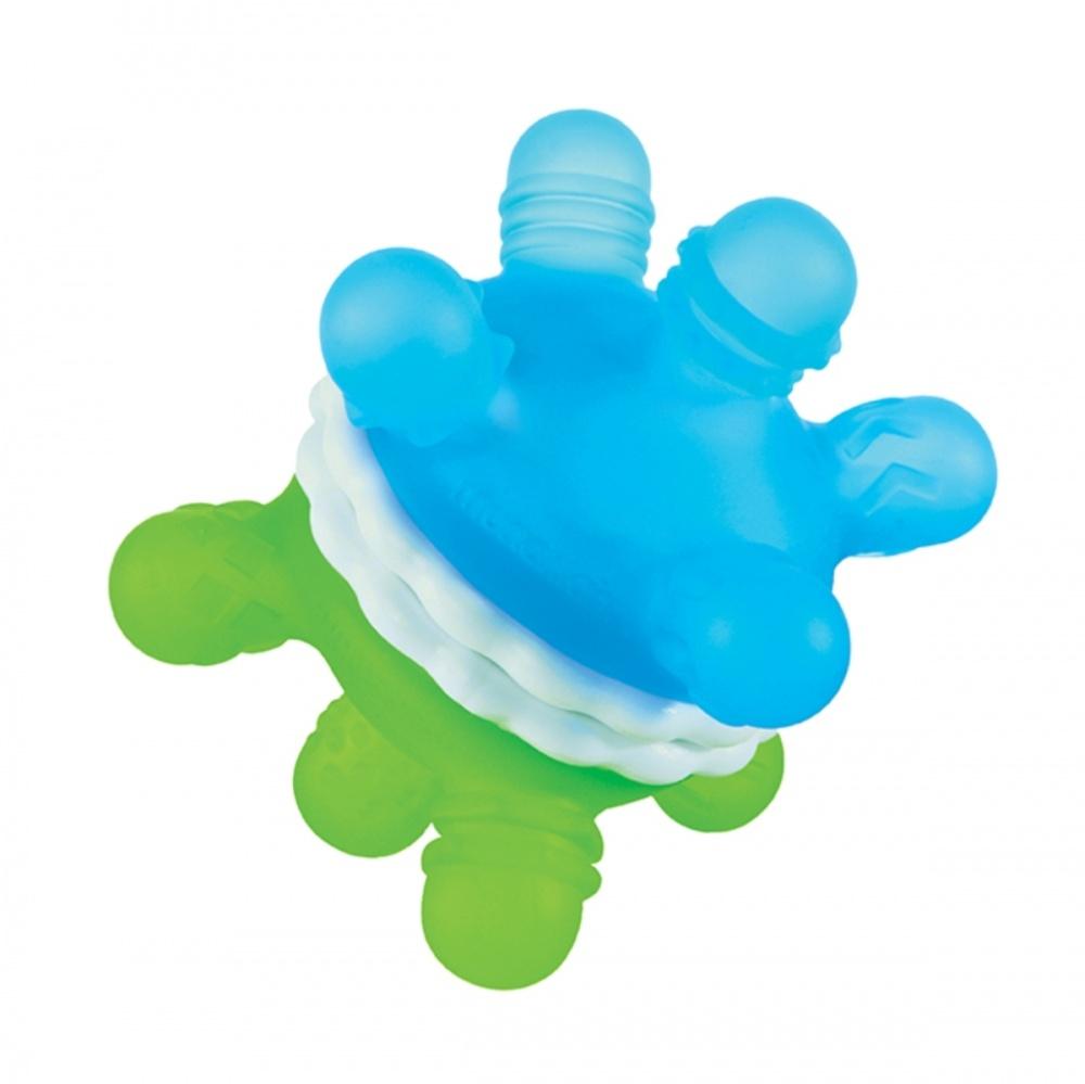 Munchkin игрушка-прорезыватель голубой/зелёный Мячик 6+