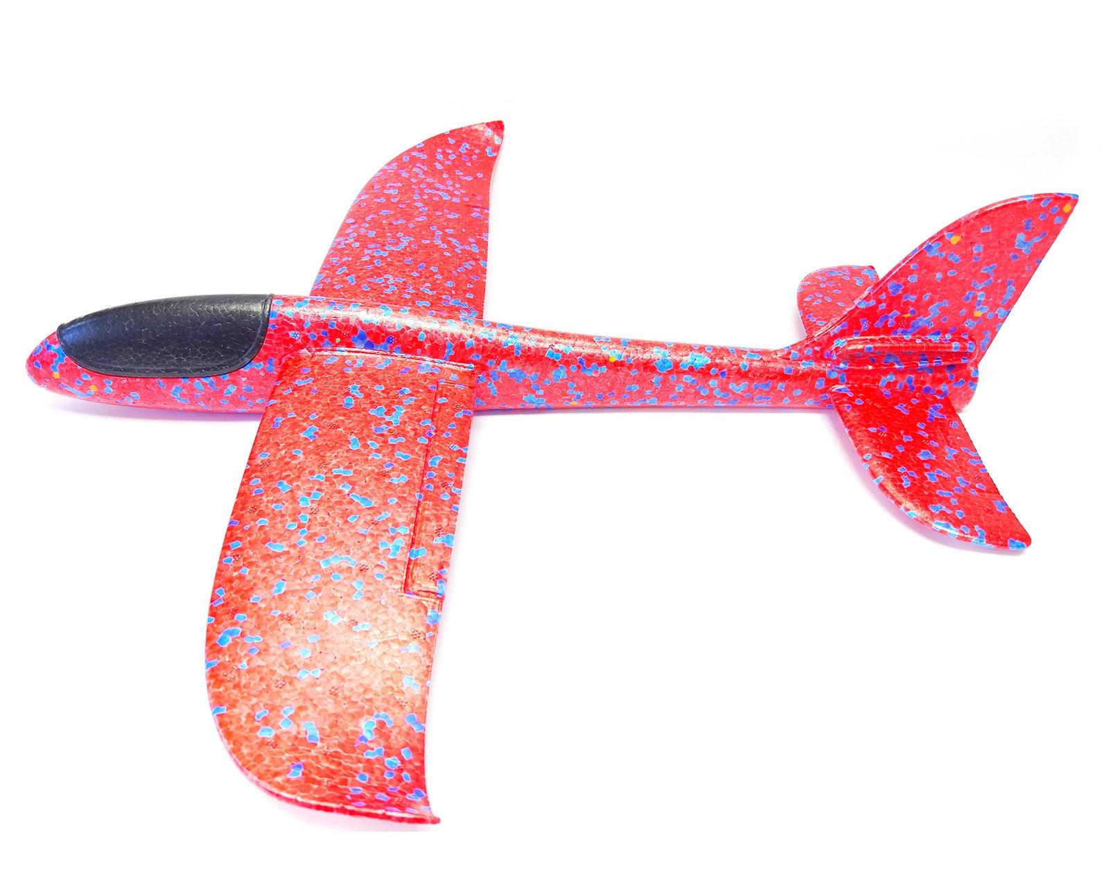 Самолет Toys Планер 48 см красный viking toys самолет джамбо цвет красный