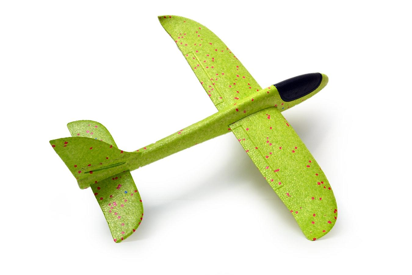 Самолет Toys Планер 48 см зеленый