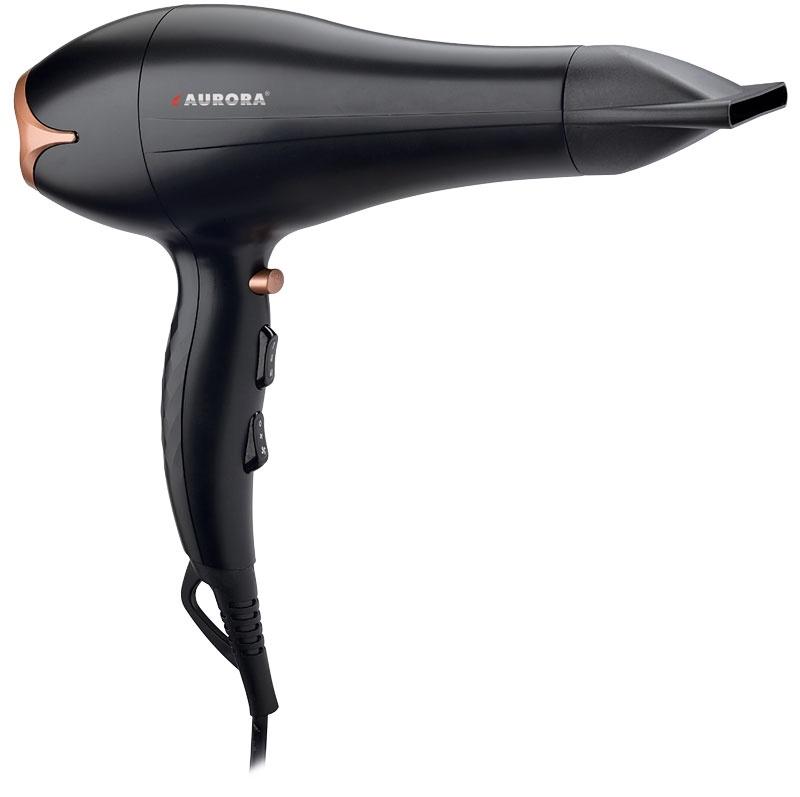Фен для волос AURORA AU3522, черно-серый