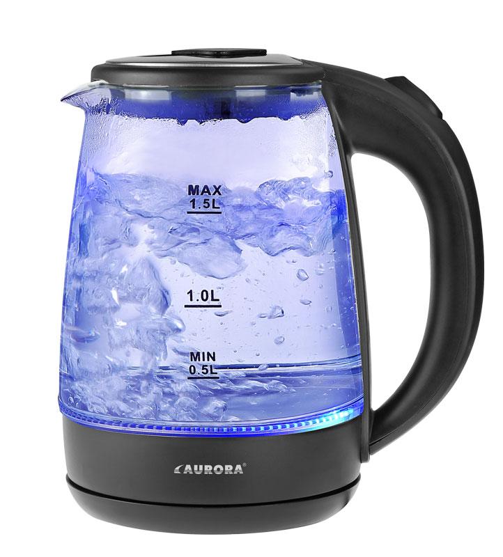Электрический чайник AURORA Чайник электрический AU3012, черный