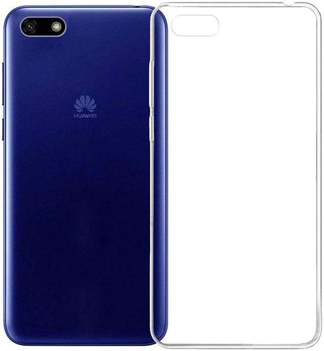 Защитный чехол GOSSO CASES ультратонкий для Huawei Y5 2018, 183546, ClearView телефон dect gigaset l410 устройство громкой связи