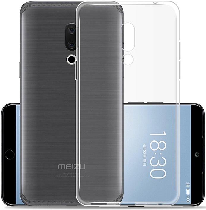 Защитный чехол GOSSO CASES ультратонкий для Meizu 15, 183641, ClearView телефон dect gigaset l410 устройство громкой связи