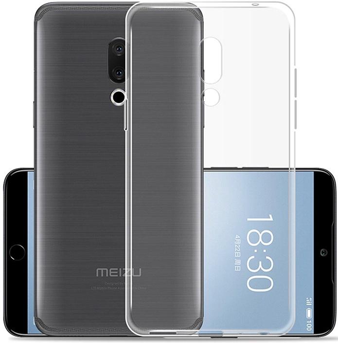 Защитный чехол GOSSO CASES ультратонкий для Meizu 15 Plus, 183642, ClearView телефон dect gigaset l410 устройство громкой связи