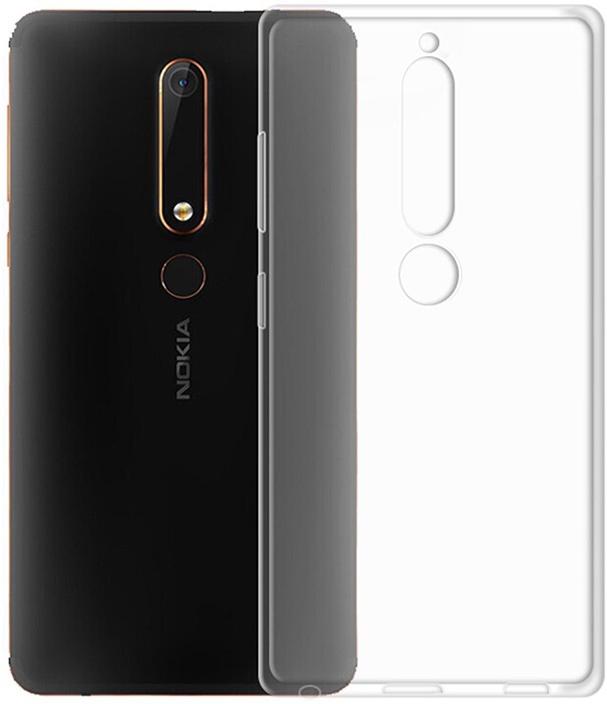 Защитный чехол GOSSO CASES ультратонкий для Nokia 6 (2018), 180551, ClearView телефон dect gigaset l410 устройство громкой связи