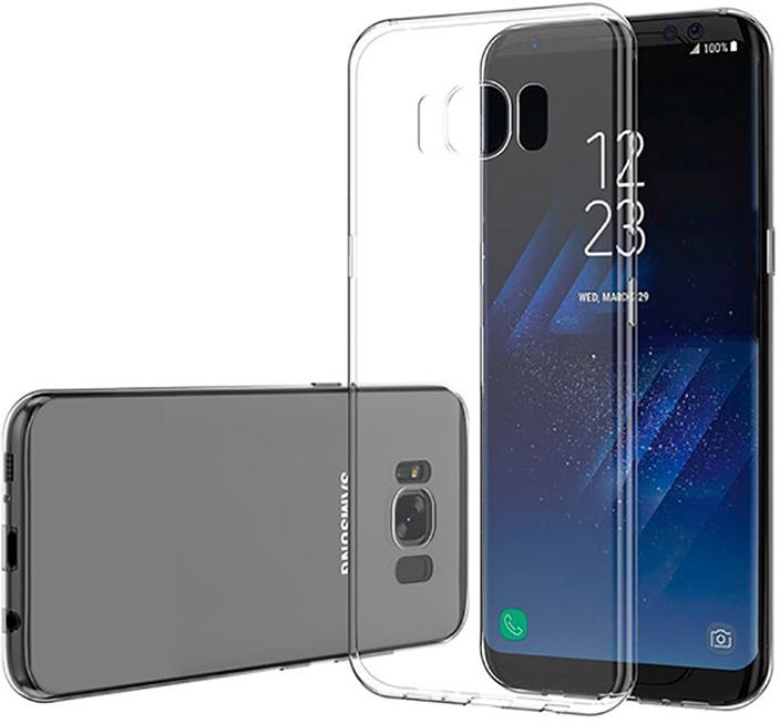 Защитный чехол GOSSO CASES ультратонкий для Samsung Galaxy S8, 180528, ClearView телефон dect gigaset l410 устройство громкой связи