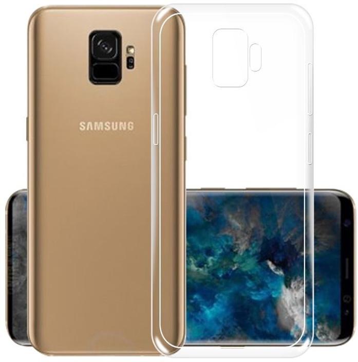 Защитный чехол GOSSO CASES ультратонкий для Samsung Galaxy S9, 180558, ClearView телефон dect gigaset l410 устройство громкой связи