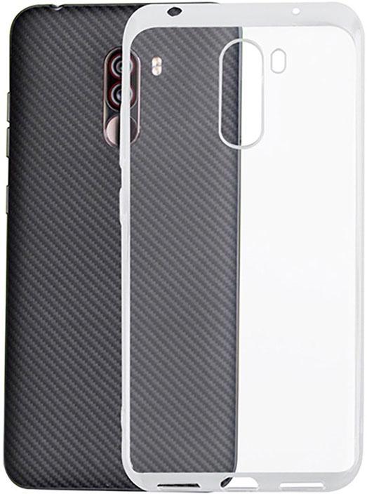 Чехол защитный Gosso Cases для Xiaomi Pocophone F1 ClearView, 193734, прозрачный телефон dect gigaset l410 устройство громкой связи